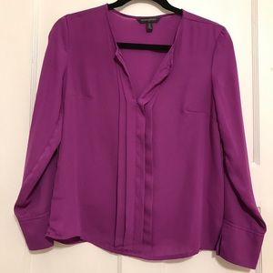 Banana Republic Purple Blouse